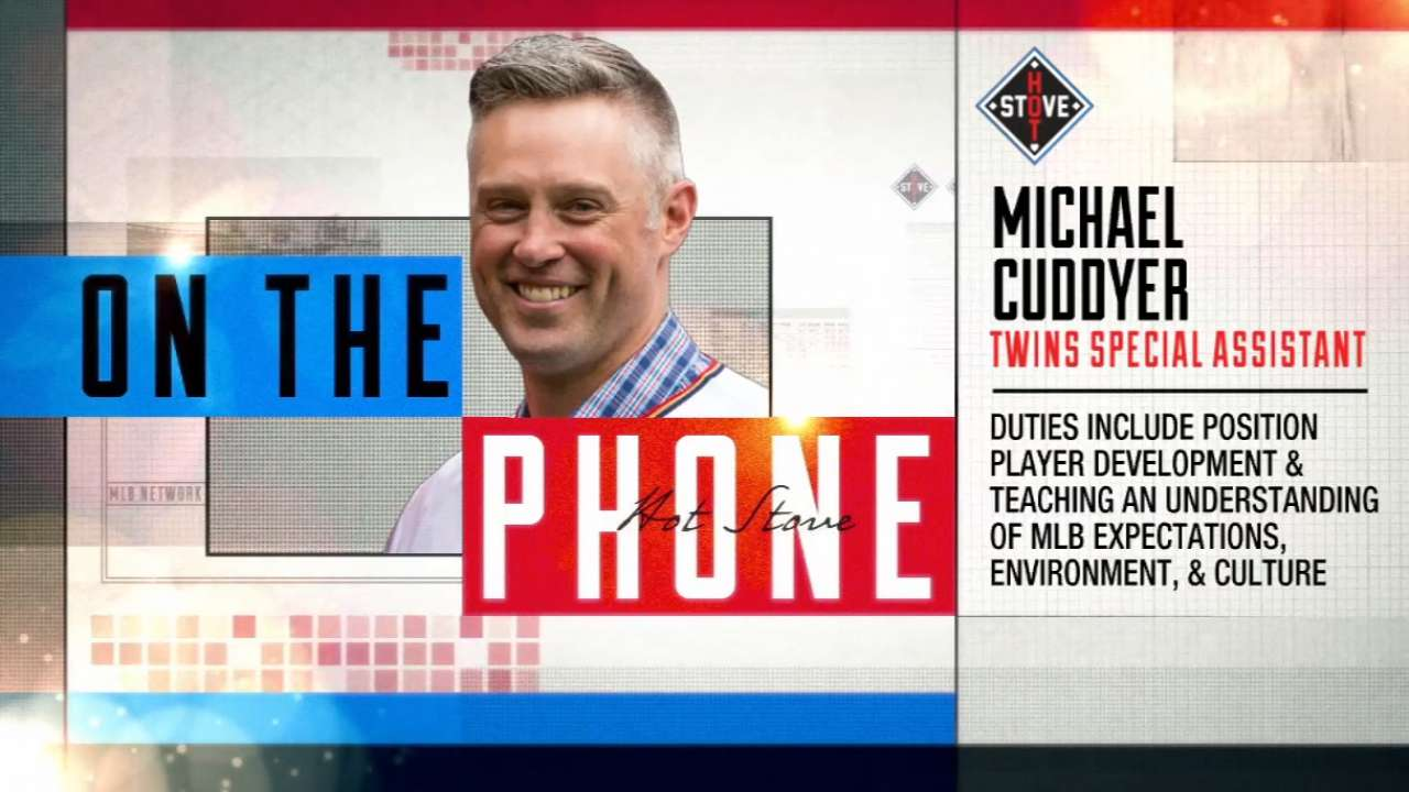 Michael Cuddyer on Hot Stove