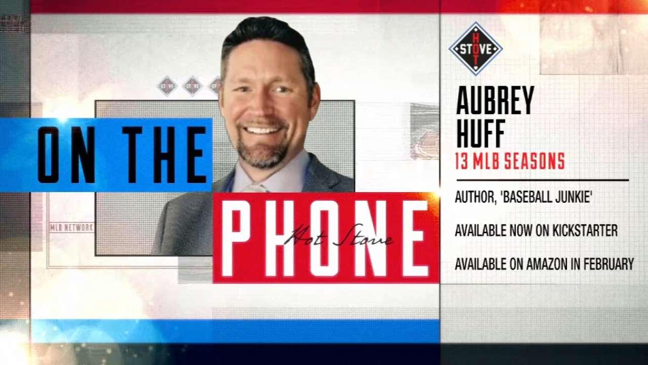 Aubrey Huff reveals personal struggles in book | MLB com