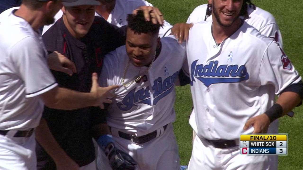 Ramirez thriving in clutch situations for Tribe