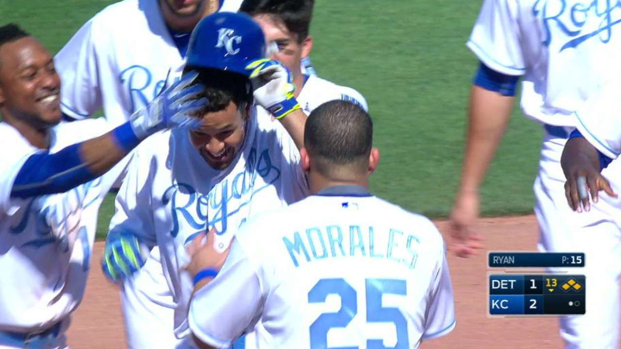 Cuthbert the hero for Royals in extras