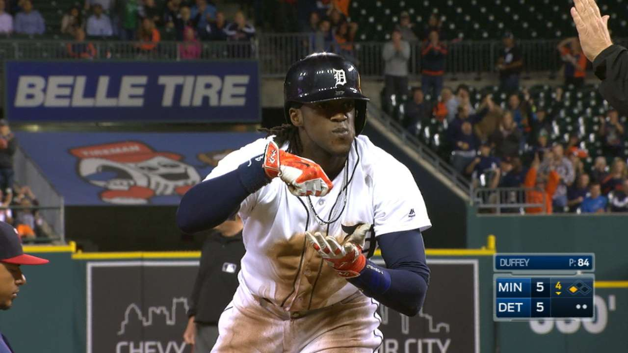 Tigers trade Maybin for prospect