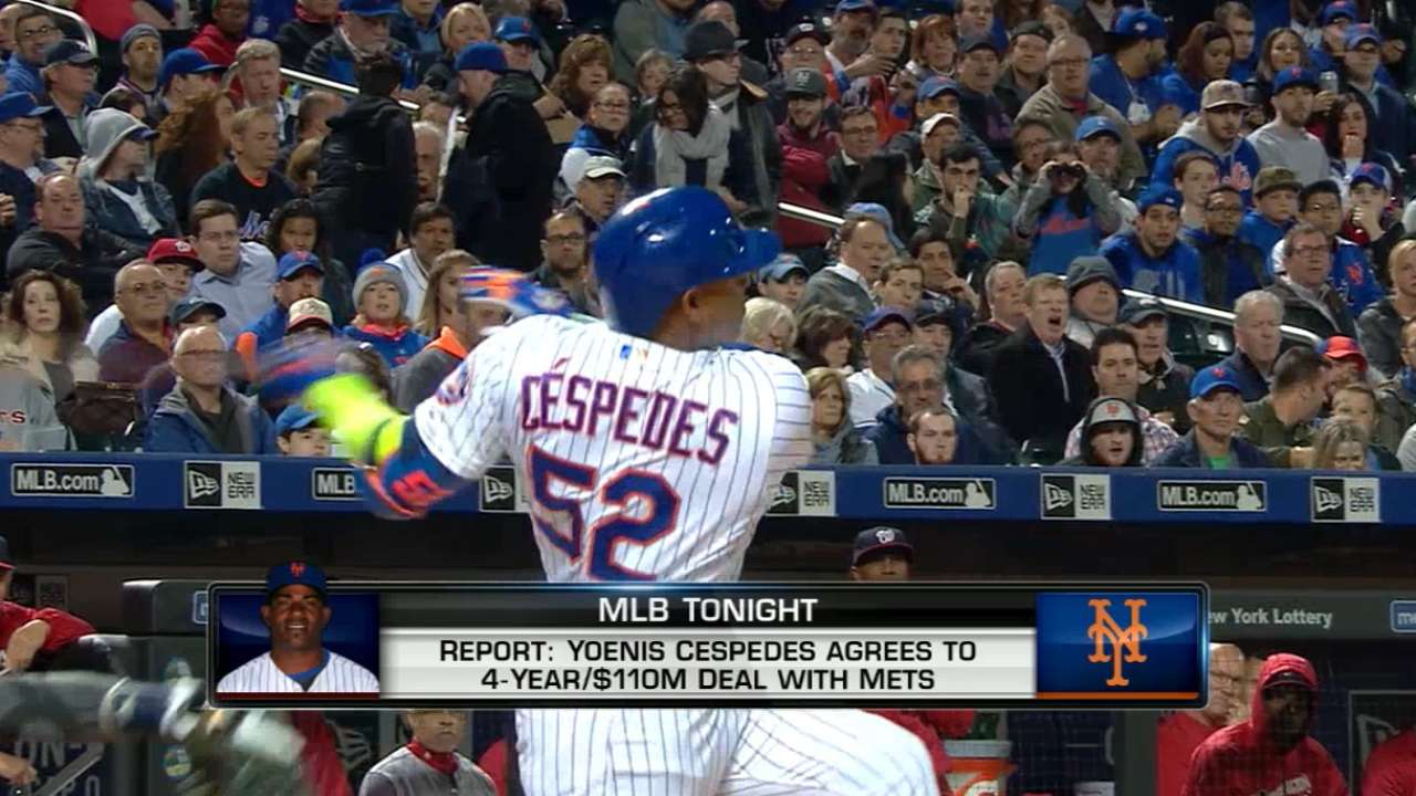 5 things to watch in wake of Cespedes deal