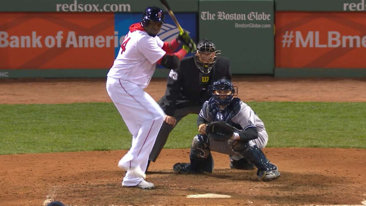 Big Papi wins eighth Outstanding DH Award