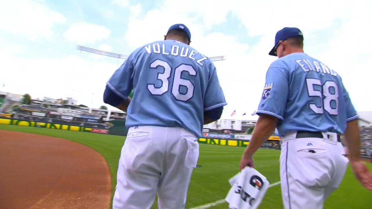 Bolstering staff still priority after Volquez addition