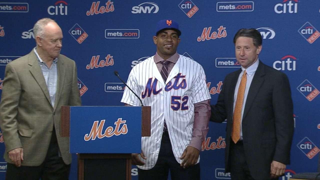 Cespedes returns to Mets