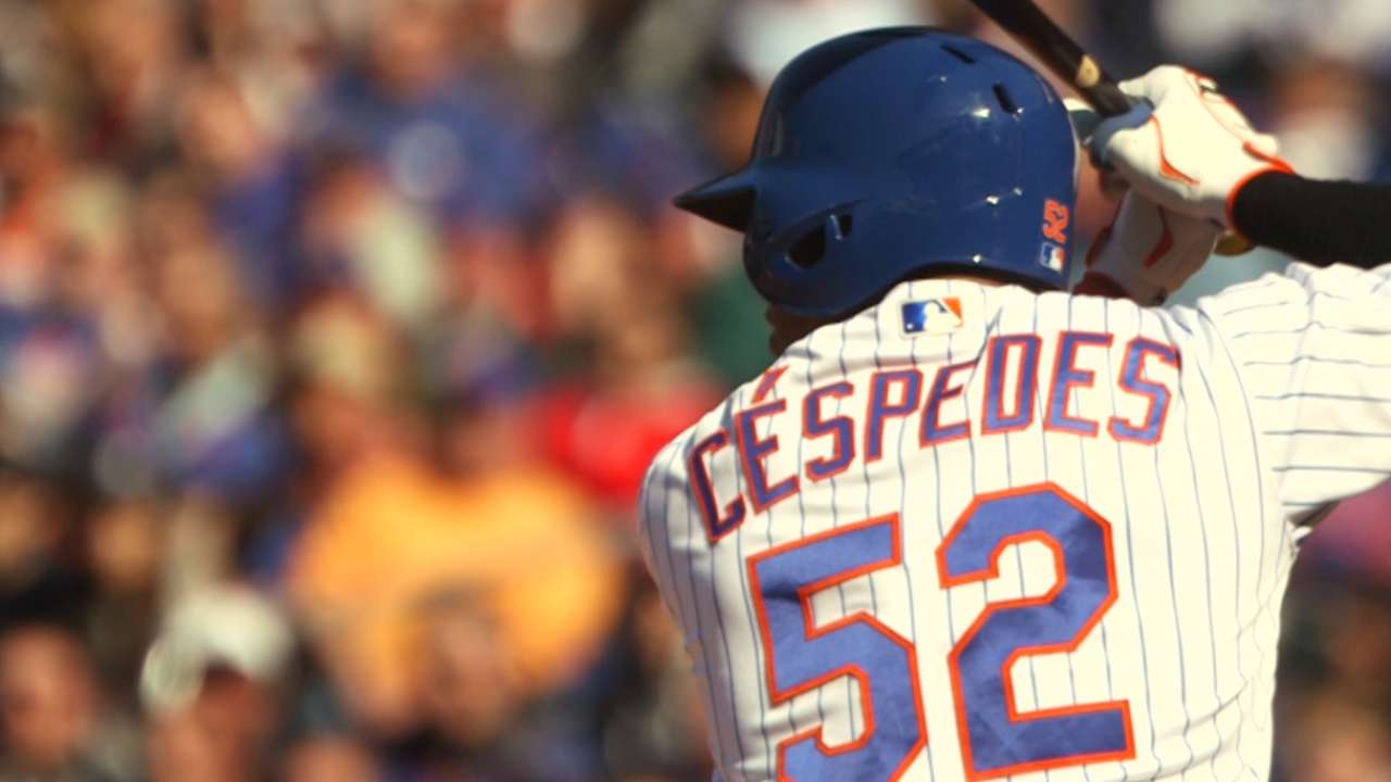 Cespedes, Alderson on new deal