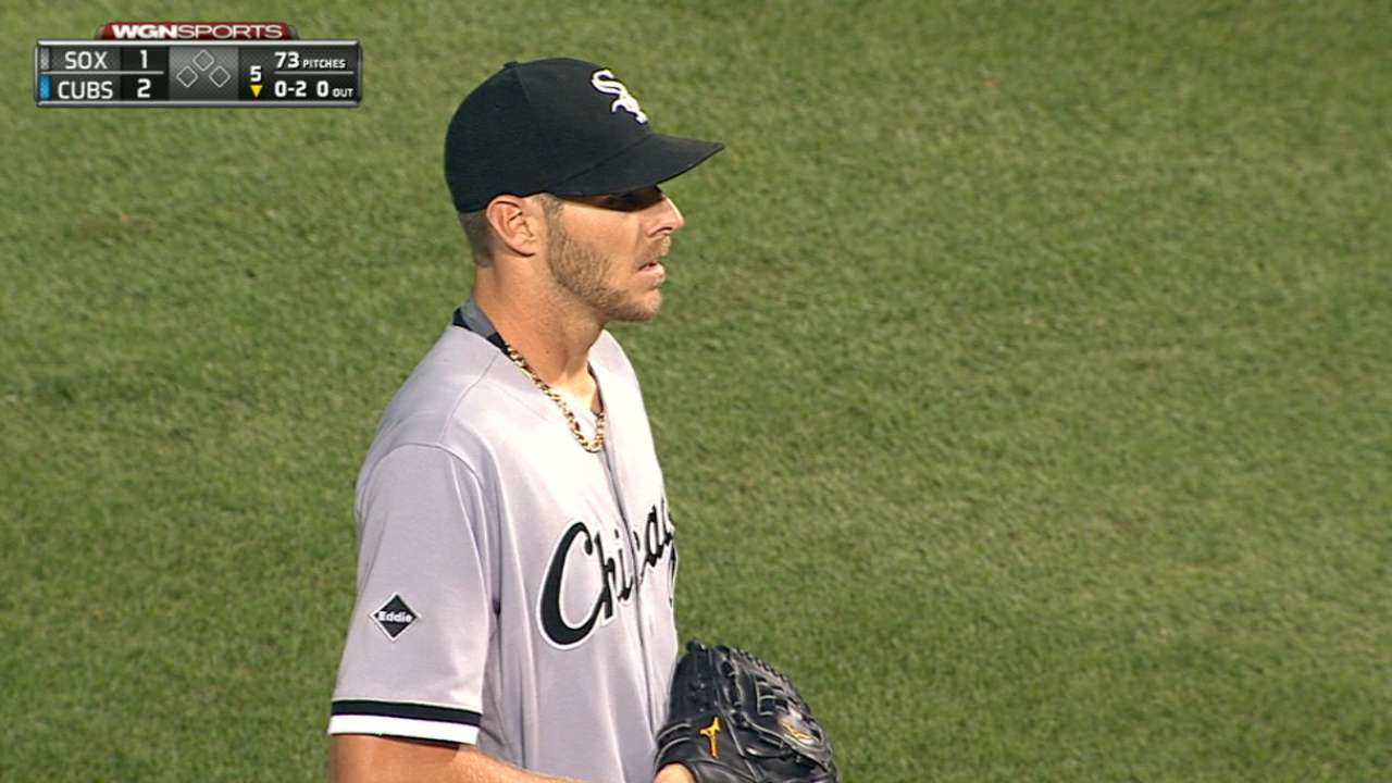 Sale clears air with Ventura, teammates