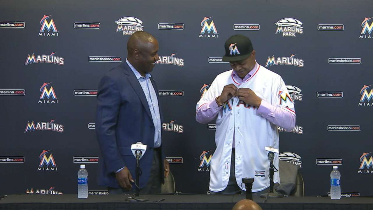 Volquez introduced: 'Marlins were my first choice'