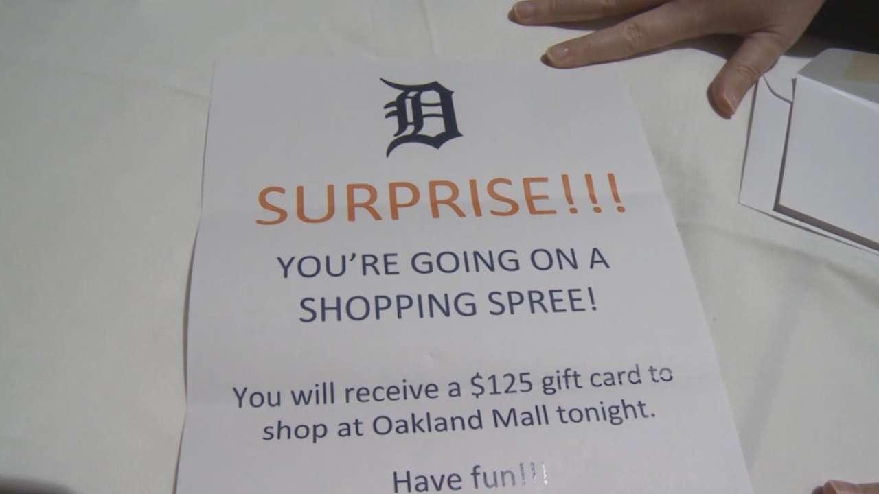 Tigers host dinner, shopping spree for kids
