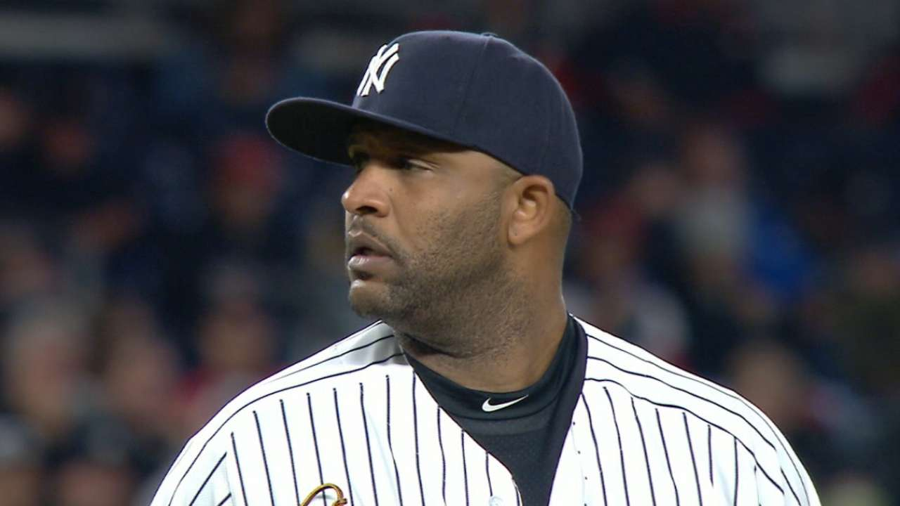 Sabathia locked in despite youth movement