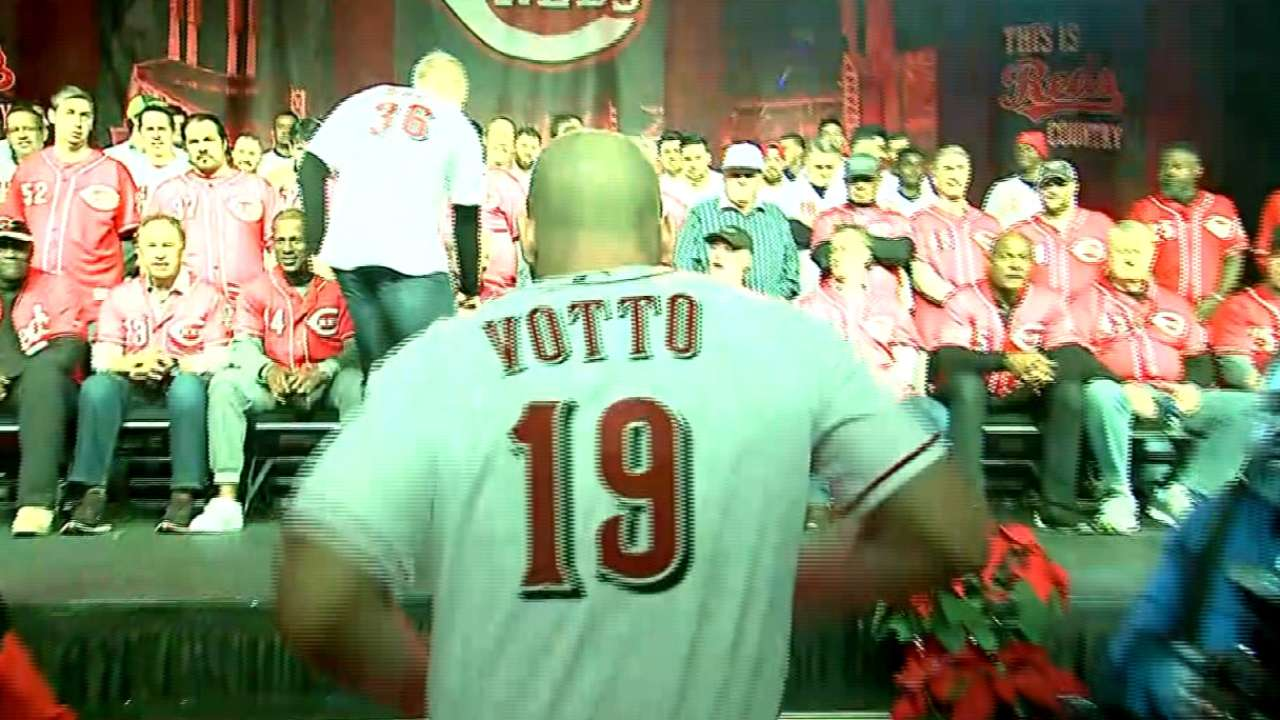 Reds roll out red carpet for fun-filled Redsfest