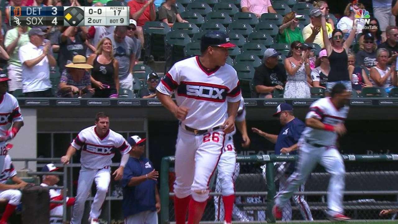 White Sox dejan tendidos a Tigres con hit de Eaton en la 9na