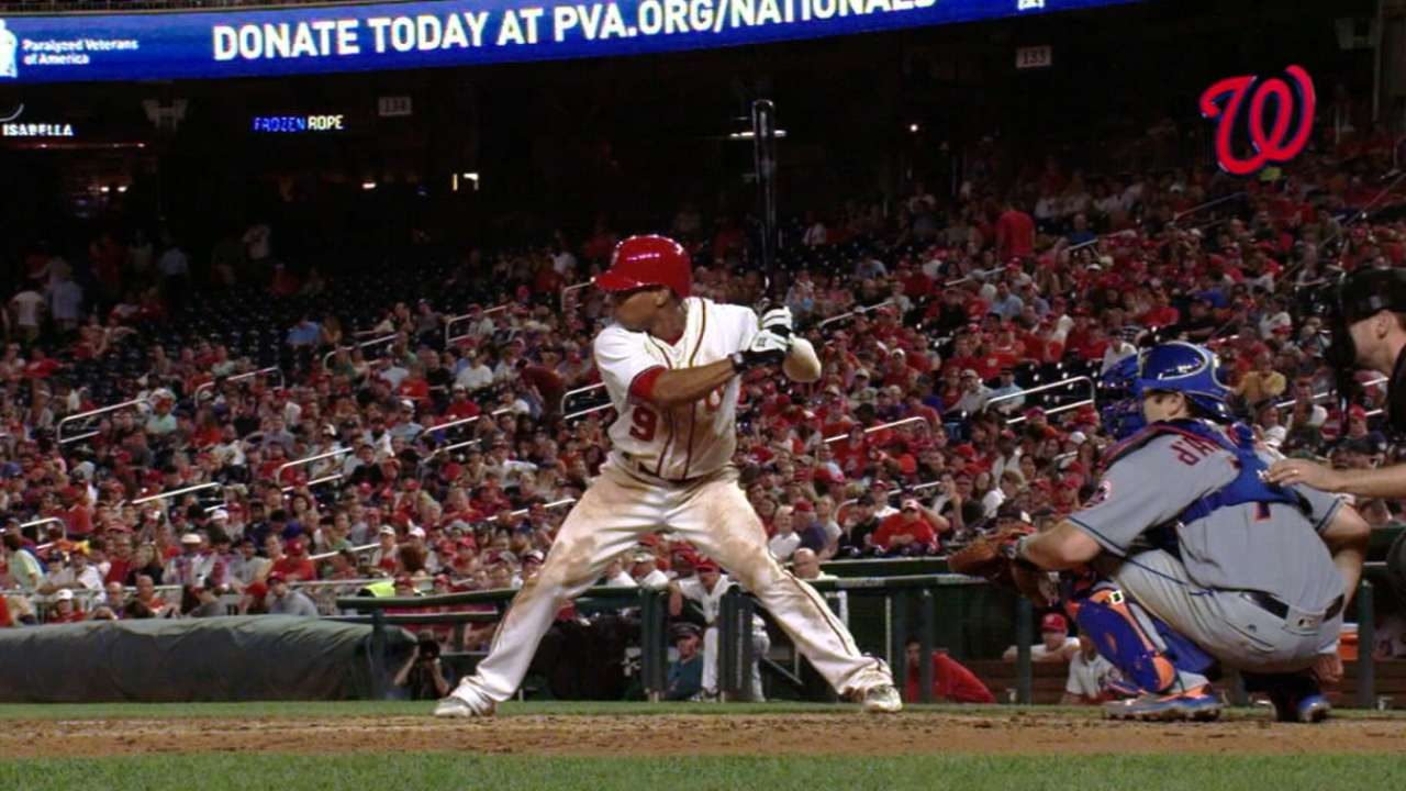 Revere a free agent as Nats non-tender contract