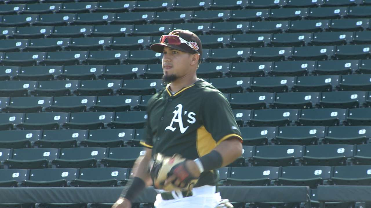Barreto can make impact for A's