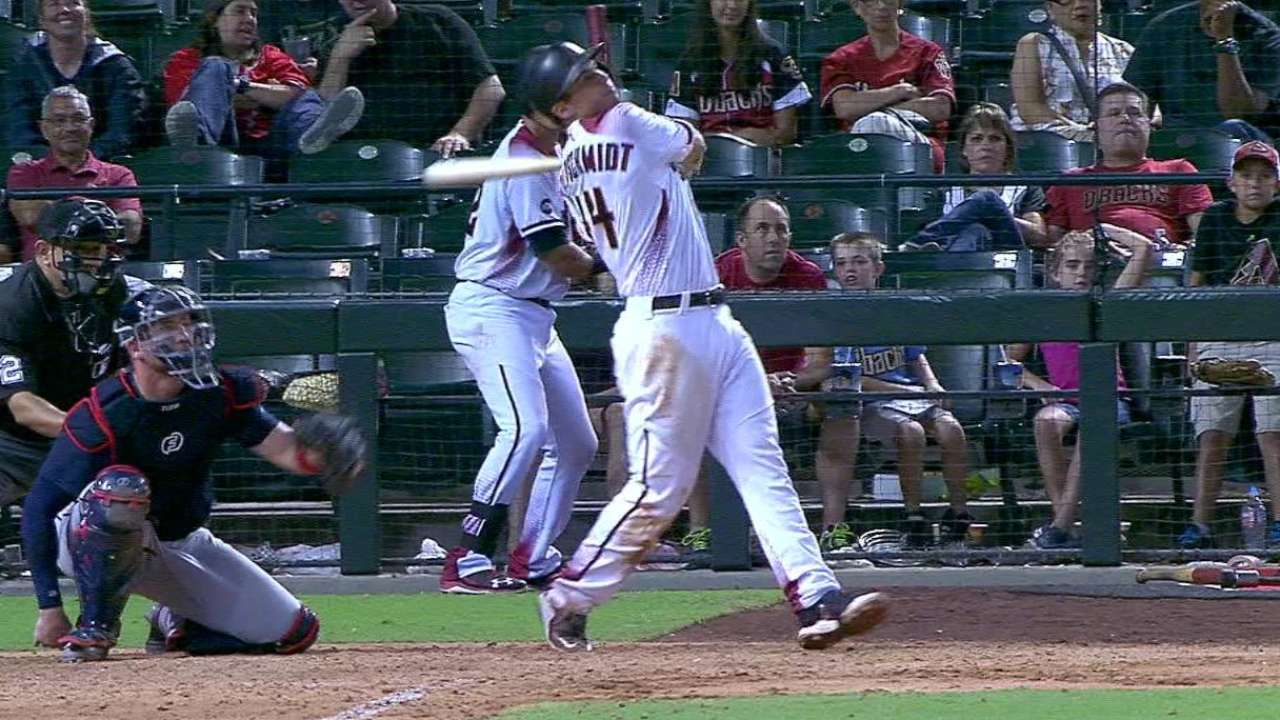 D-backs sink Braves on Goldy's walk-off homer