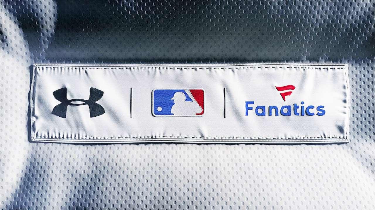 Under Armour, Fanatics, MLB strike uniform deal
