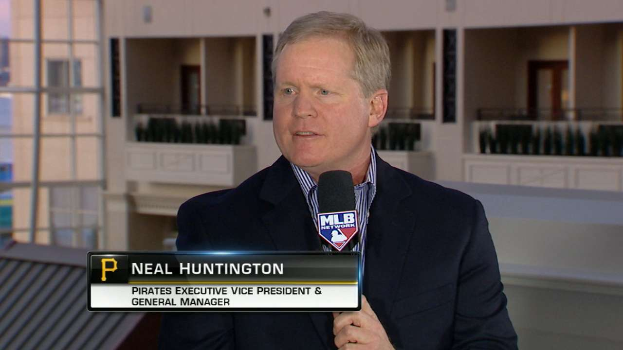 MLB Now: Huntington on McCutchen