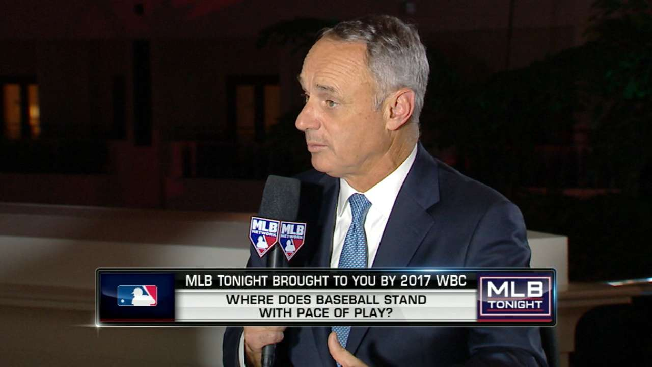 Manfred on pace-of-play rules