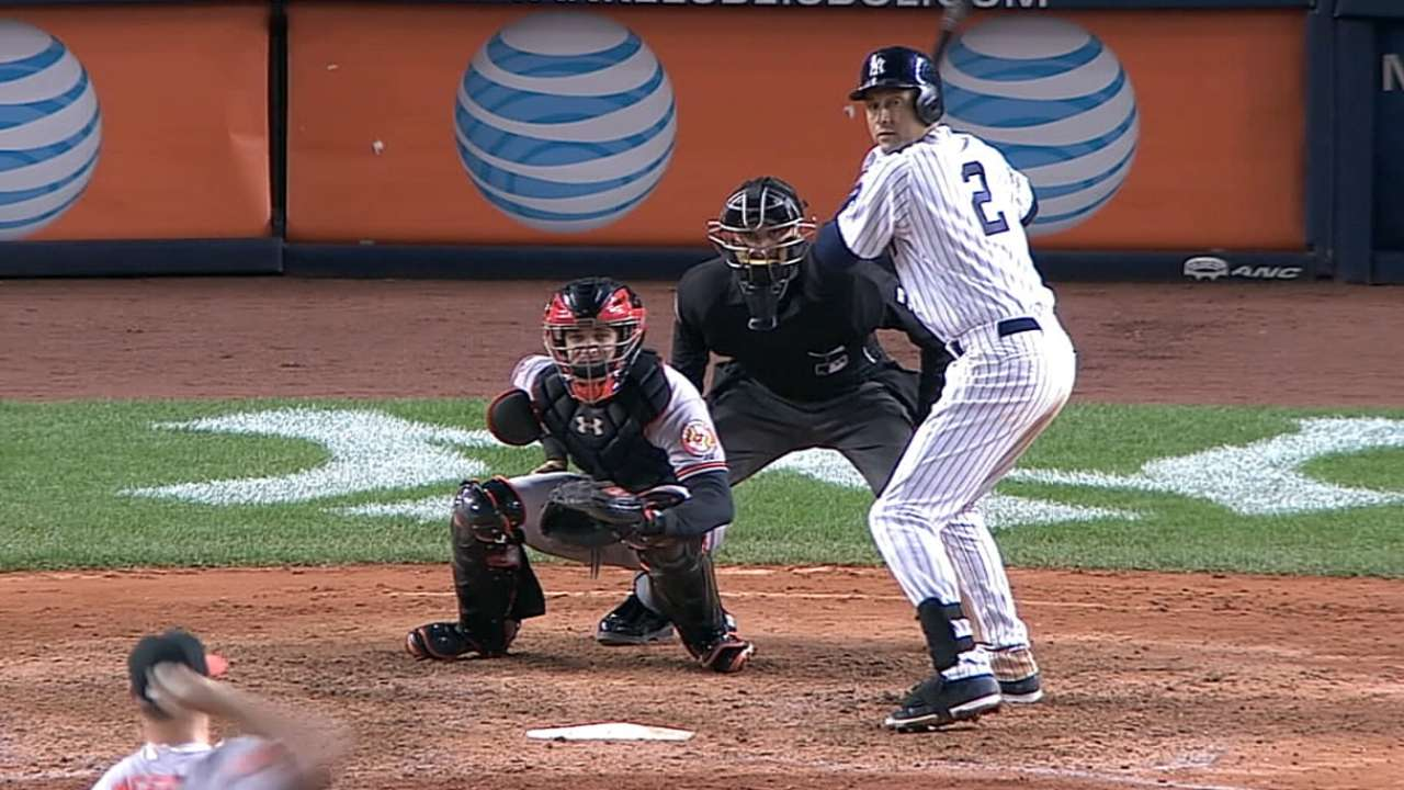 R-E-2-P-E-C-T: Jeter's No. 2 to be retired May 14