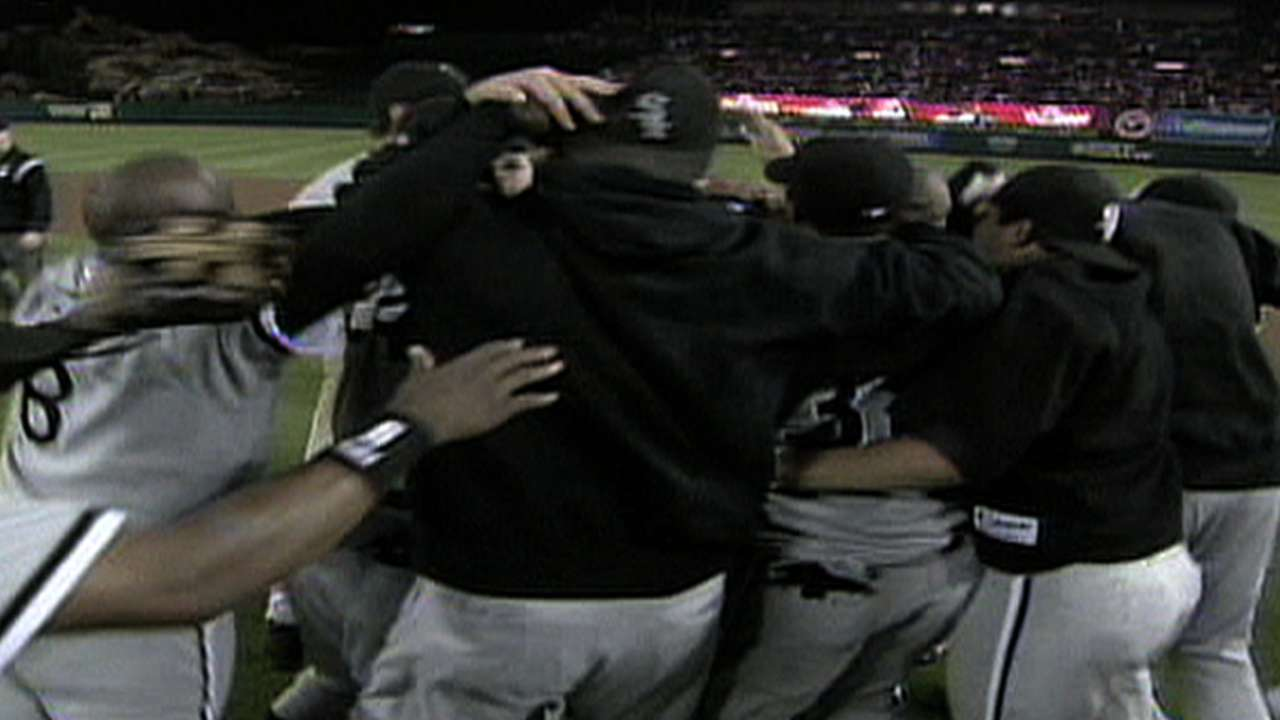 White Sox win AL Pennant