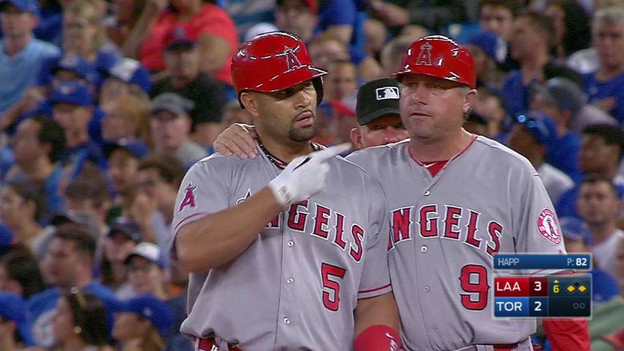 100 RBIs: Another night, another Pujols feat