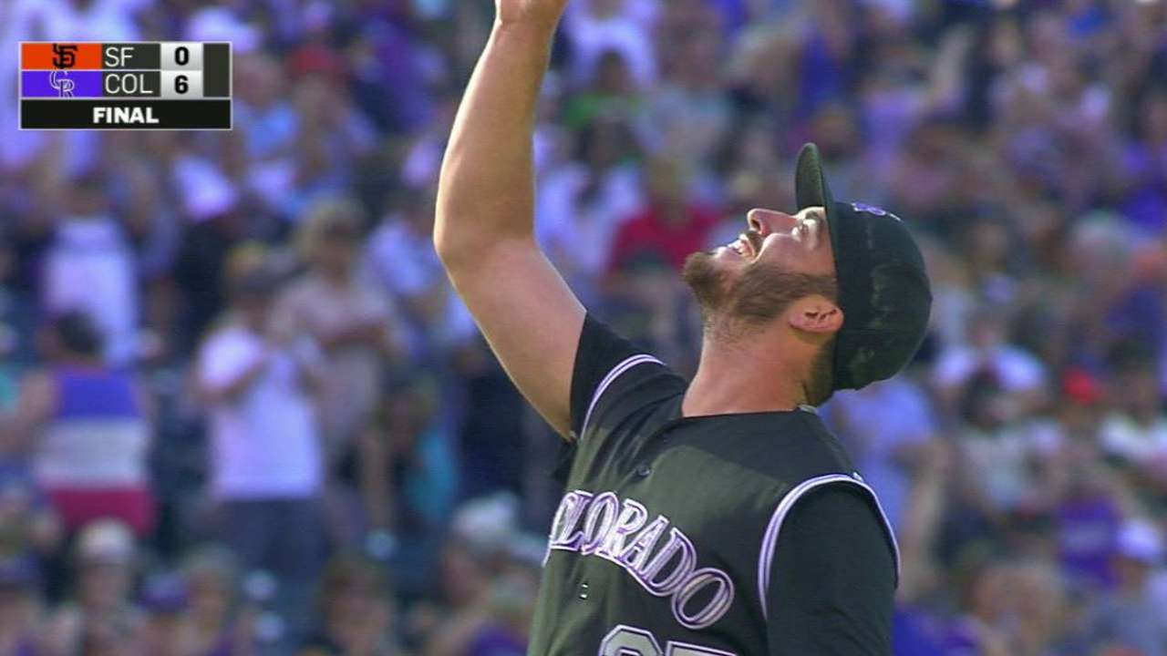 Rockies' Bettis perfecting the fast finish