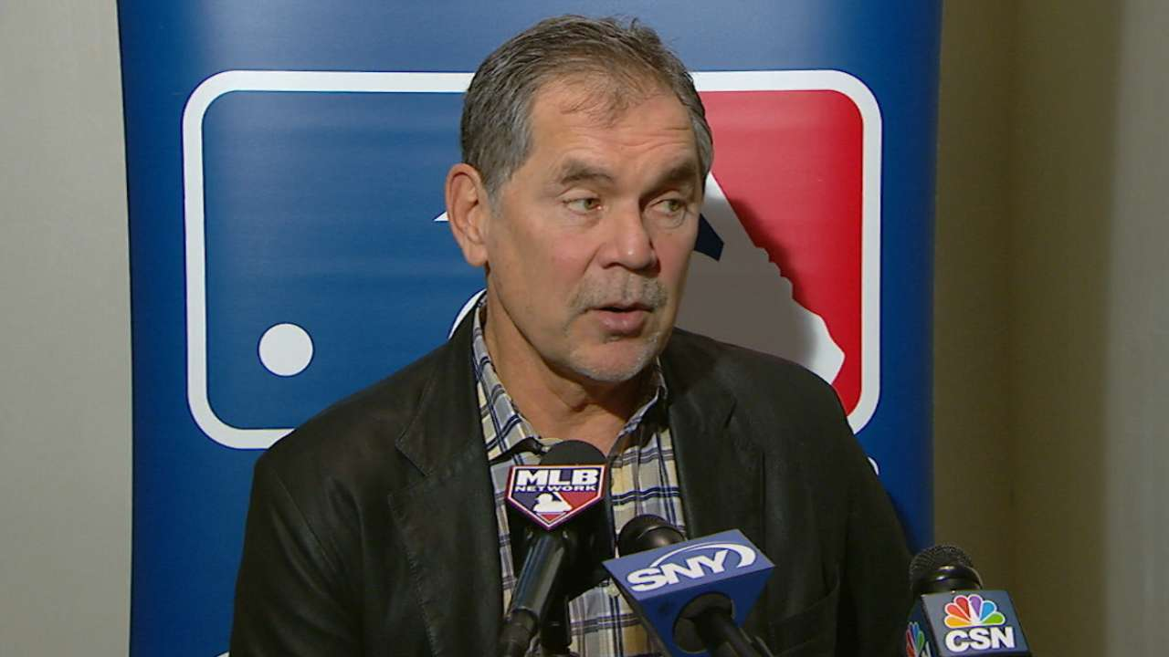 Bochy on team's further needs