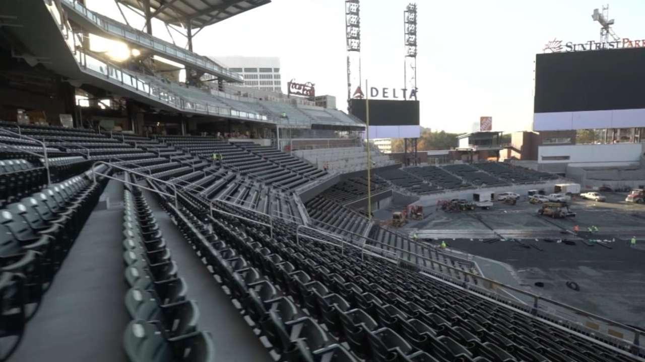 Snitker on Braves' new ballpark