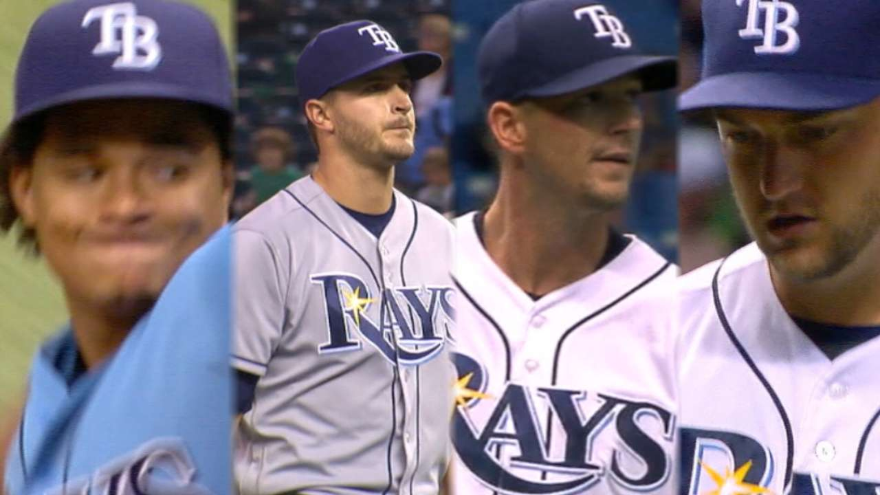 Outfield, bullpen next on Rays' to-do list