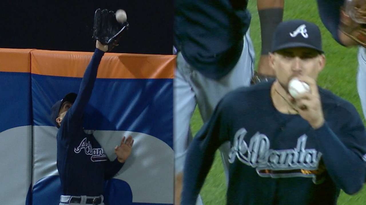 Inciarte's game-winning catch