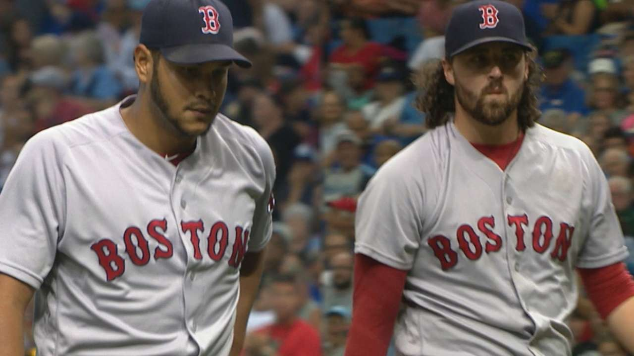 Red Sox hurlers enjoy history-making K-day