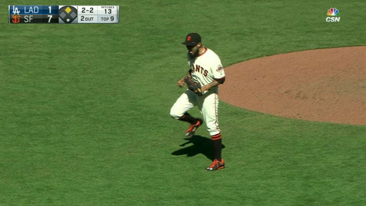Giants punch Wild Card Game ticket with sweep