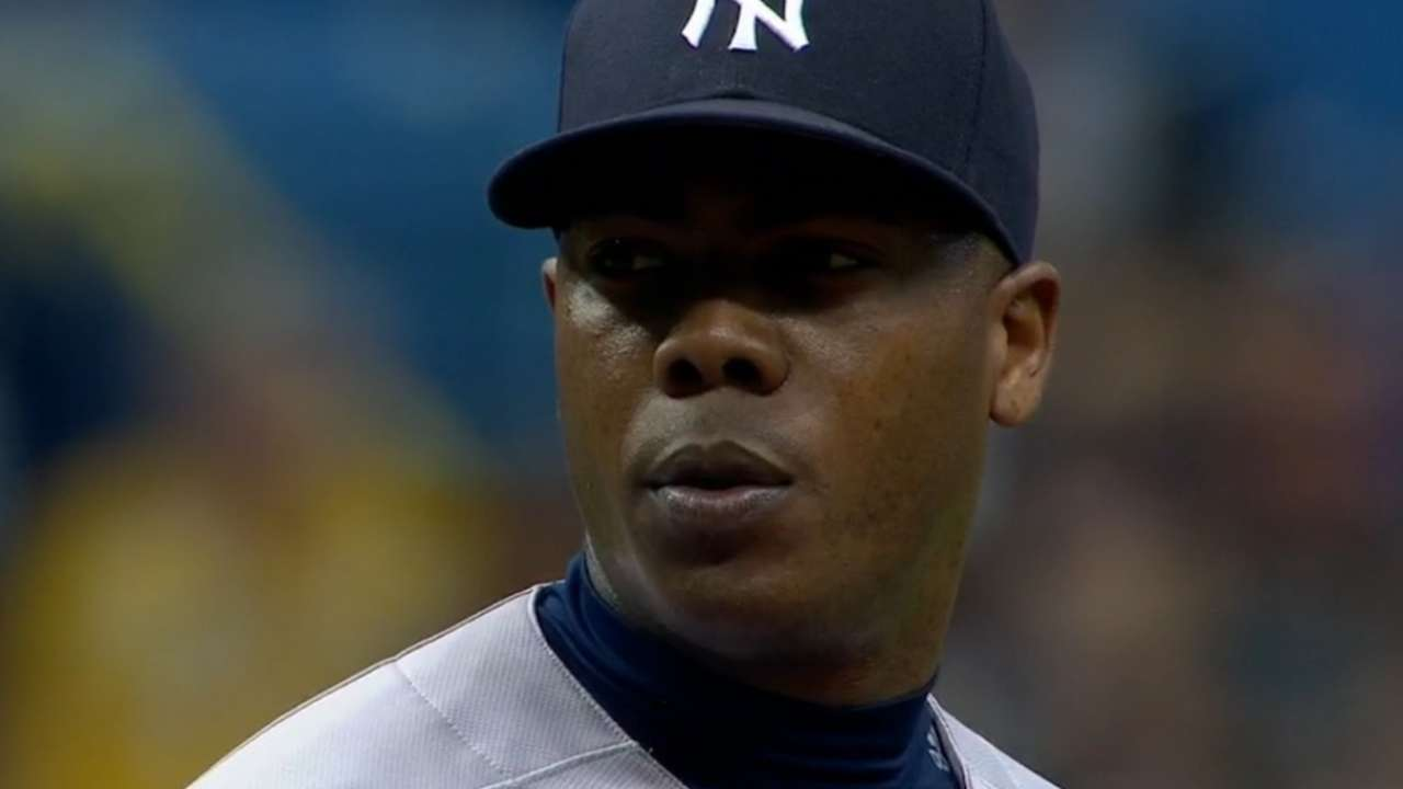 Chapman reportedly rejoins Yanks
