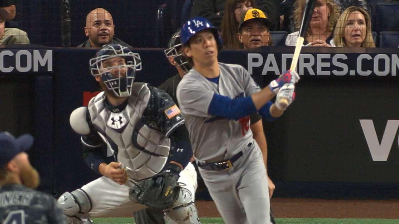 Maeda luce y Dodgers hacen historia en San Diego
