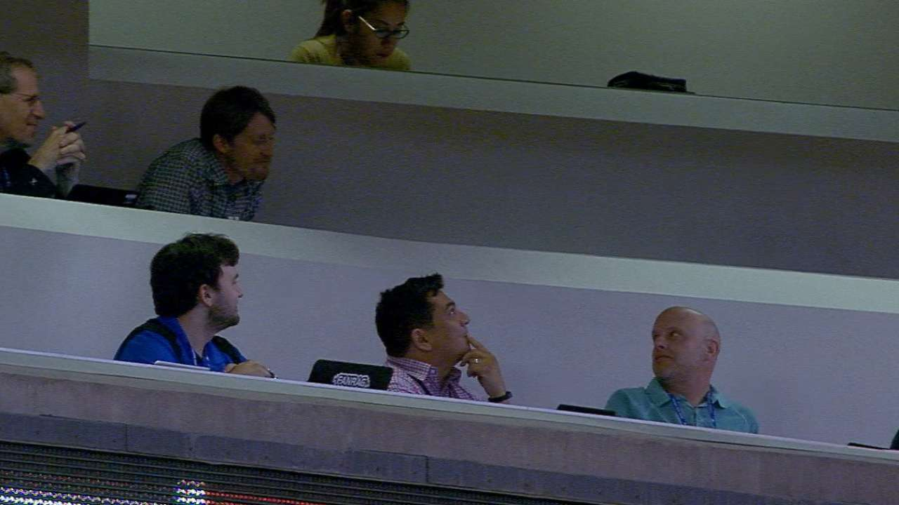Foul play in press box, but was it a catch?