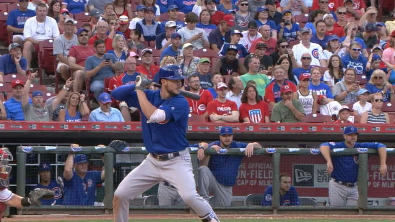 5 alive! Bryant 5-for-5, hits 3 of Cubs' 5 HRs vs. Reds
