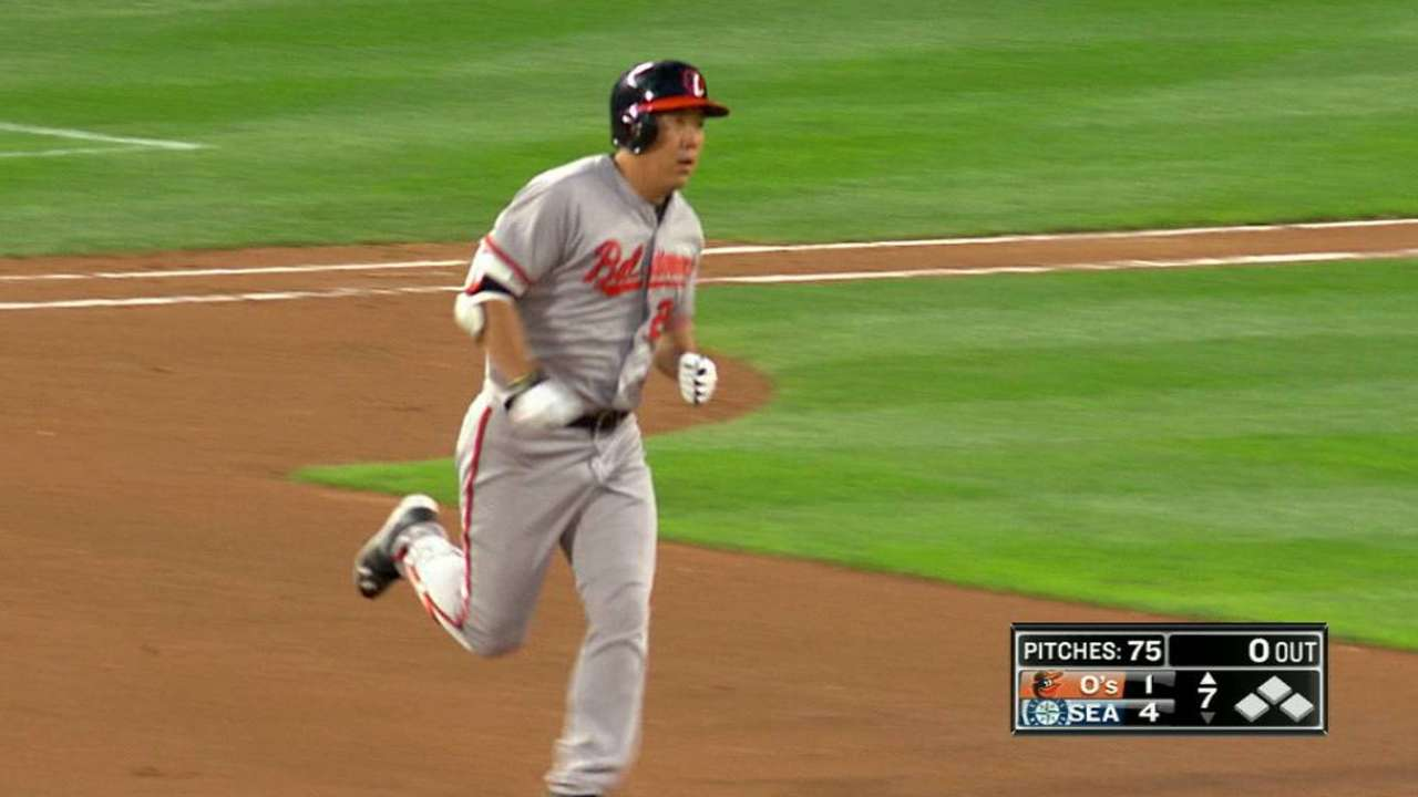 O's what a month: Orioles set June HR mark