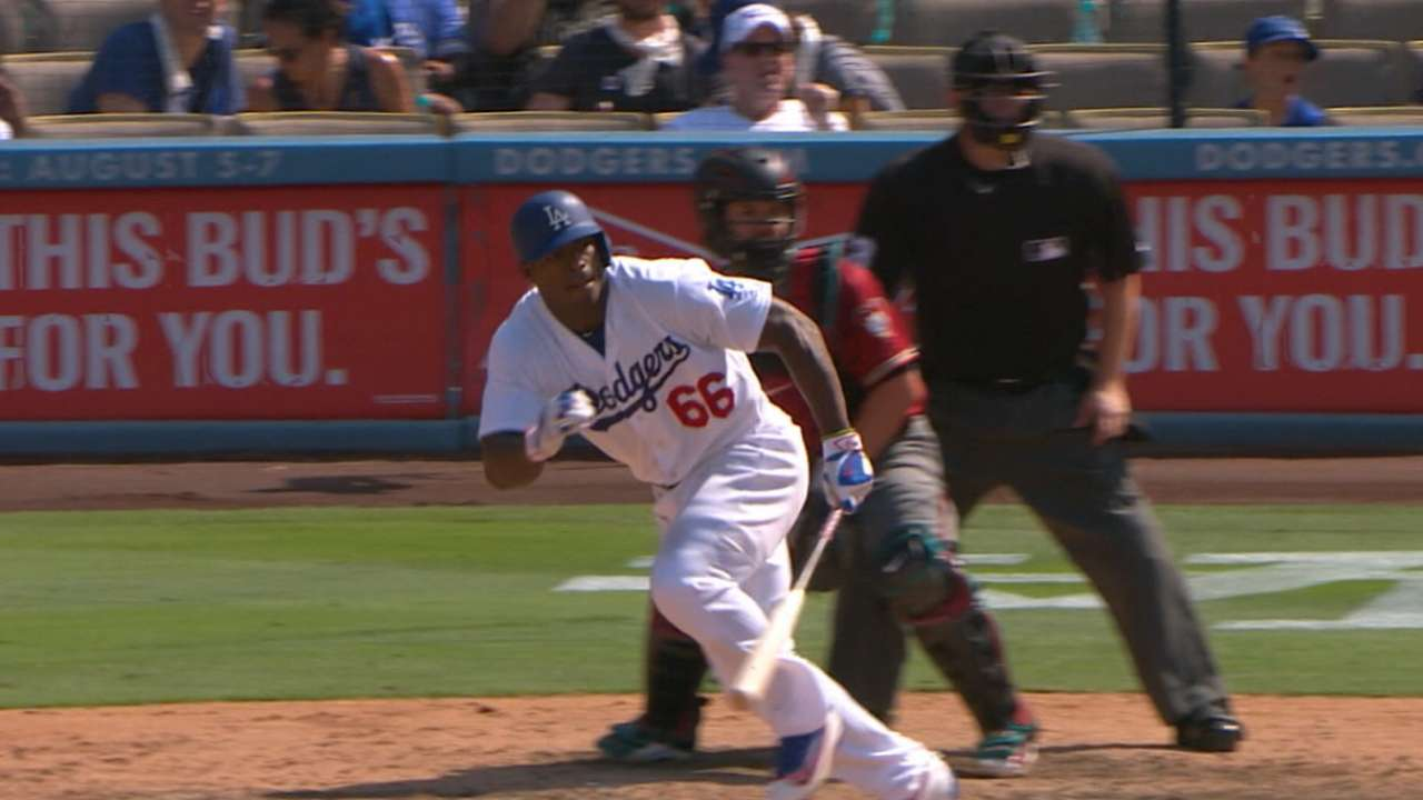 Dodgers hope Puig finds his game in Minors