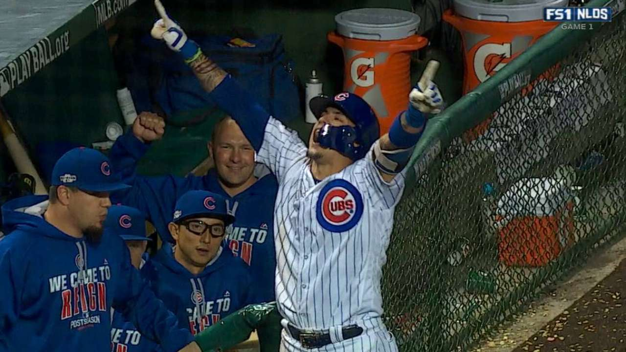 Baez puts game-winning gift in Wrigley's basket