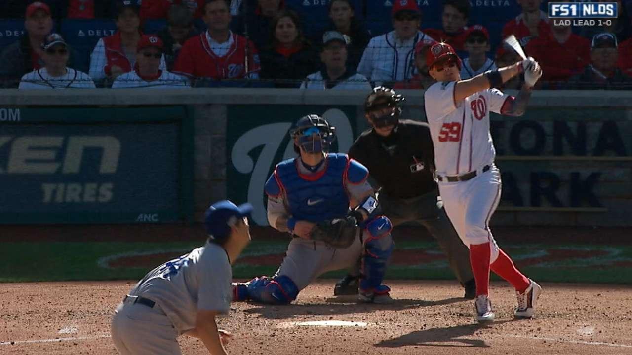 Nacionales igualan SDLN contra Dodgers detrás de Lobatón, Murphy