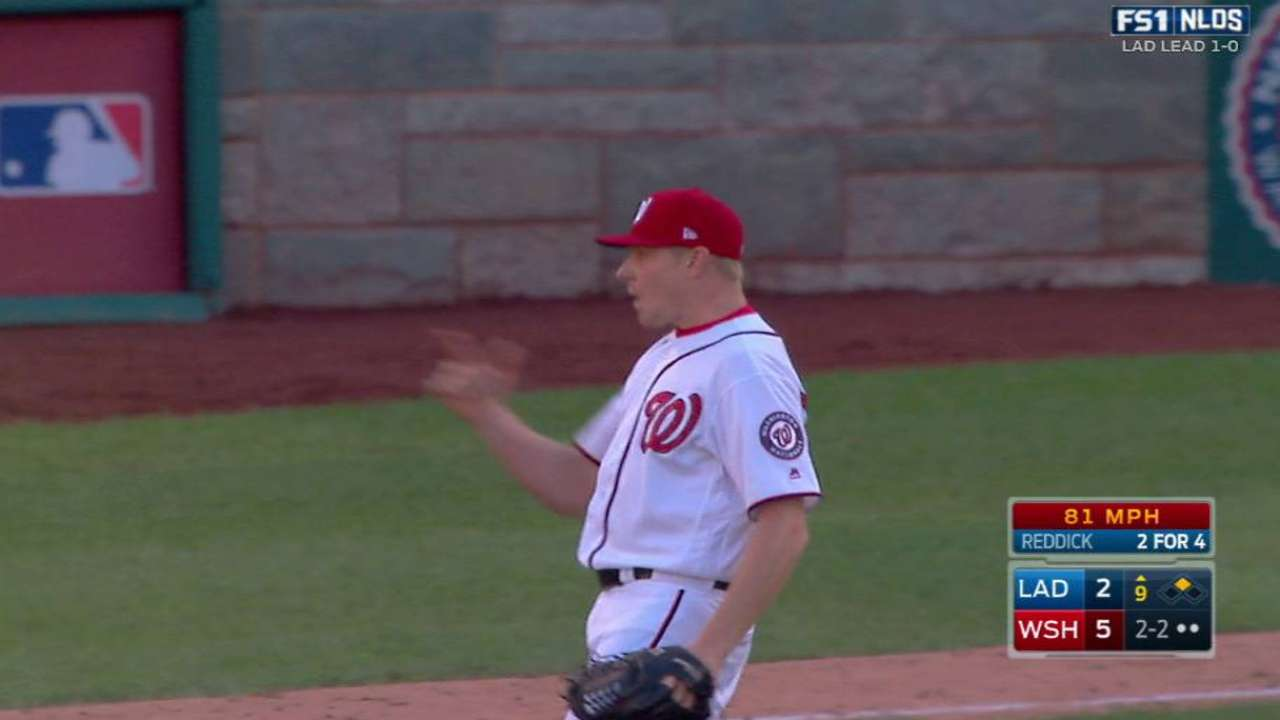 Stellar bullpen bails out Nats in Game 2 win