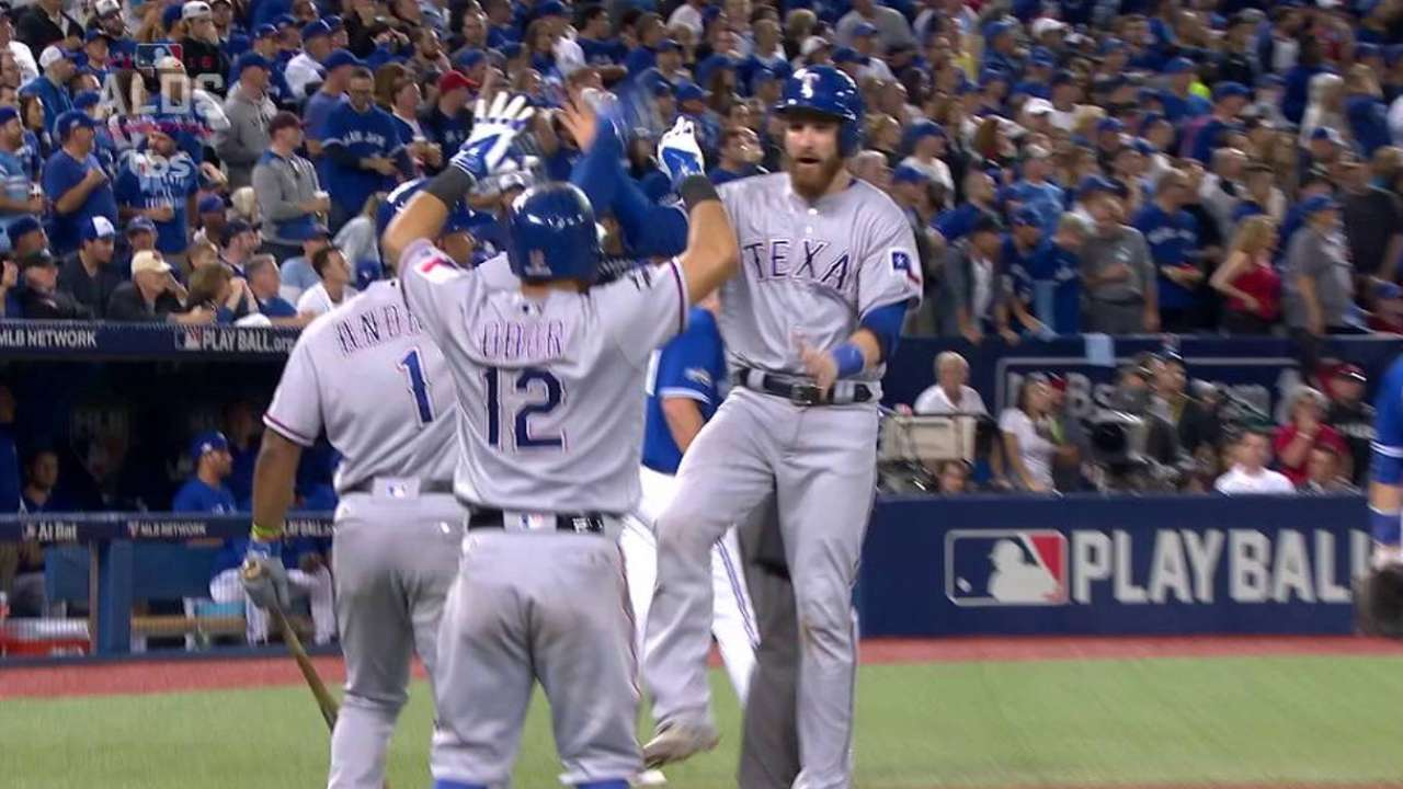 Pair of Rangers' leads quickly erased in Game 3