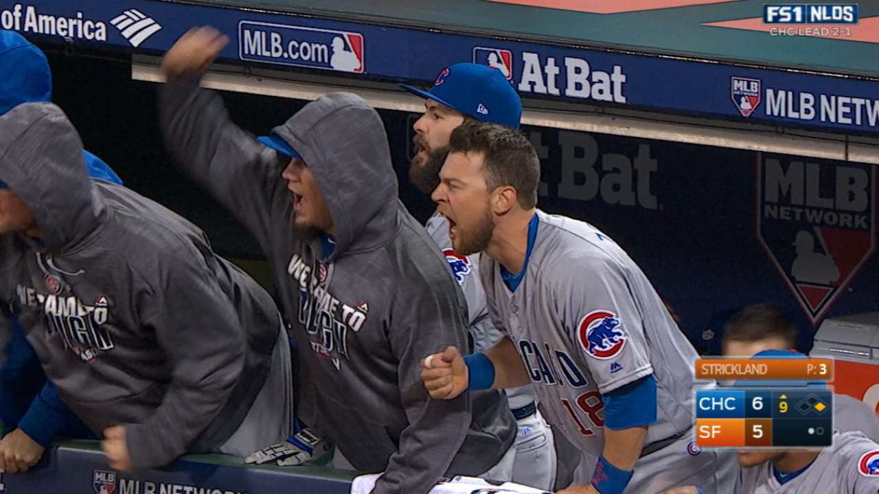 Cubs glad to advance after hard-fought NLDS