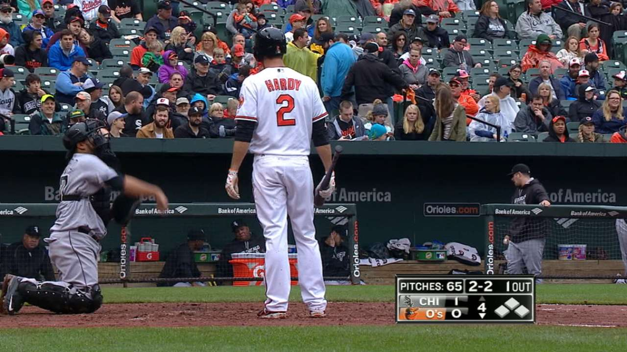 Hardy lands on DL with fractured foot