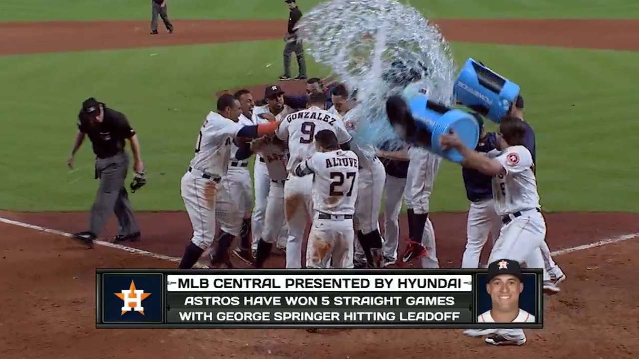 When Springer goes, the Astros go