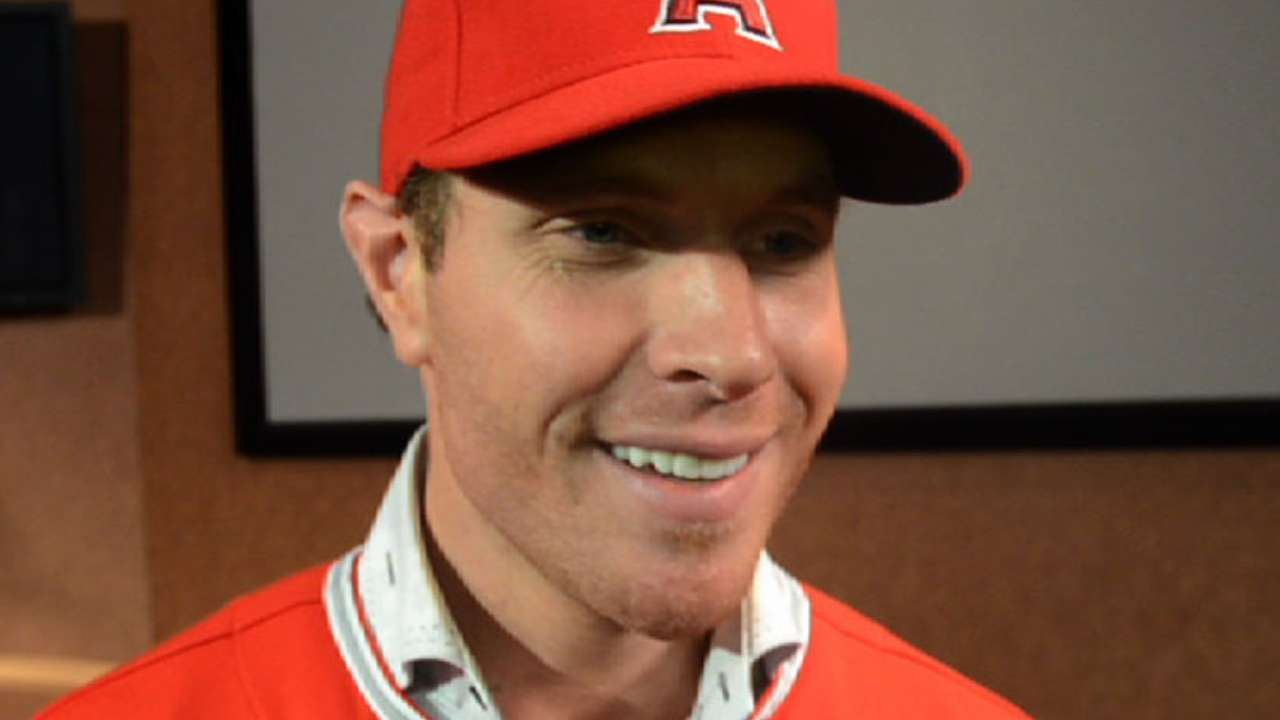 Hamilton excited to be an Angel