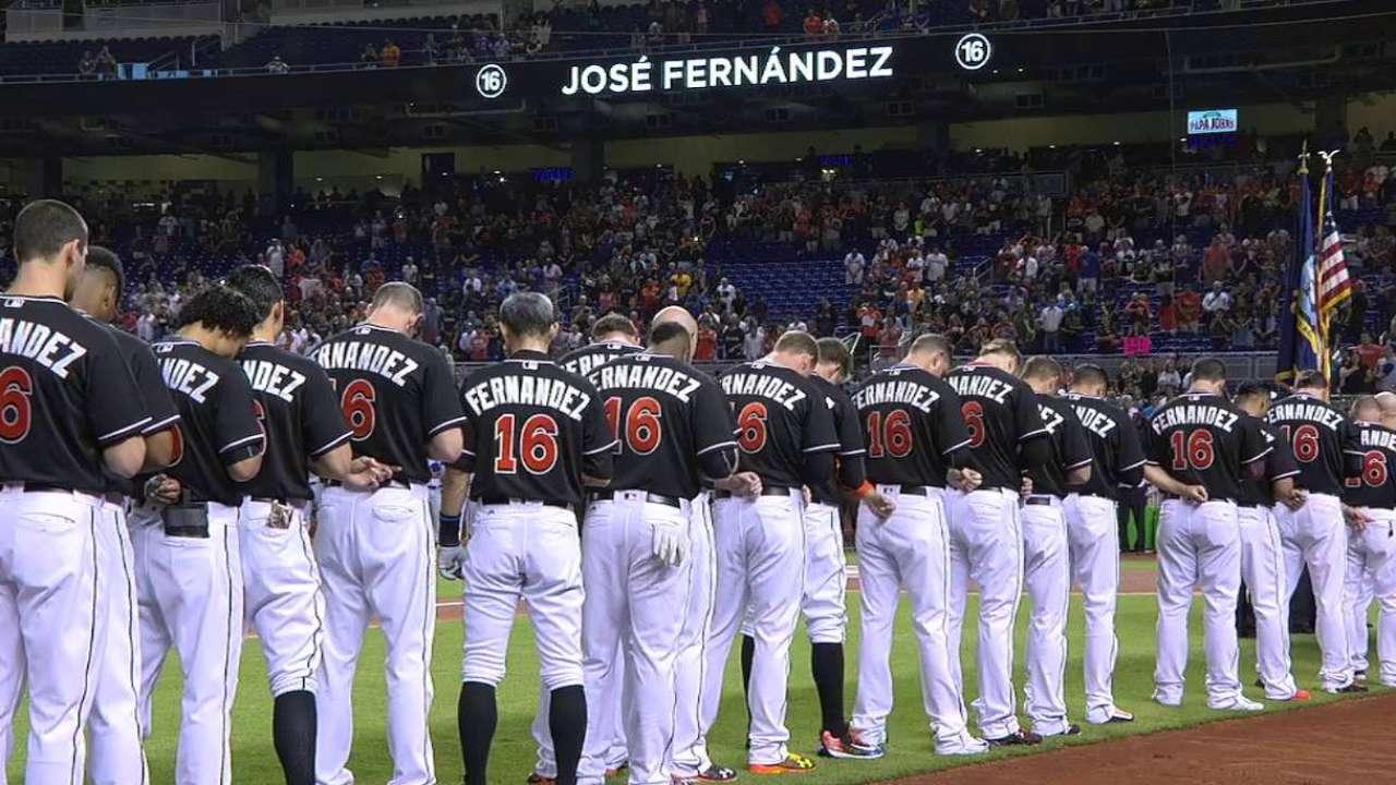 Mets, Marlins unite in remembering Jose