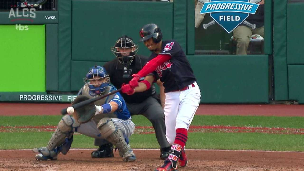 Blue Jays done in by Indians' manufactured run