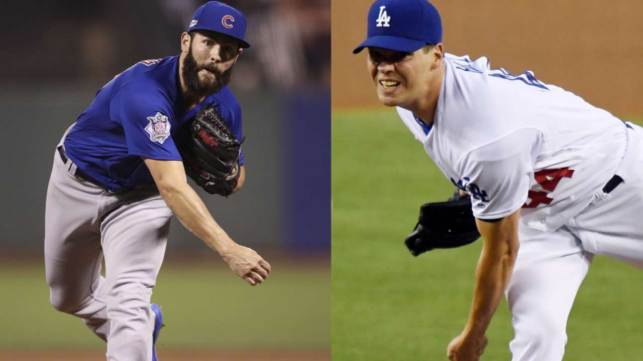 Tale of the Tape: Arrieta, Hill face off