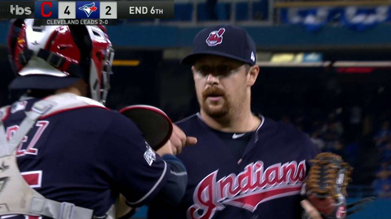 Cleveland expects full 'pen for Game 4